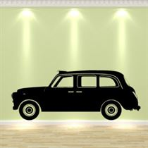 LONDON TAXI CAB Vinyl Wall Art Sticker Decal