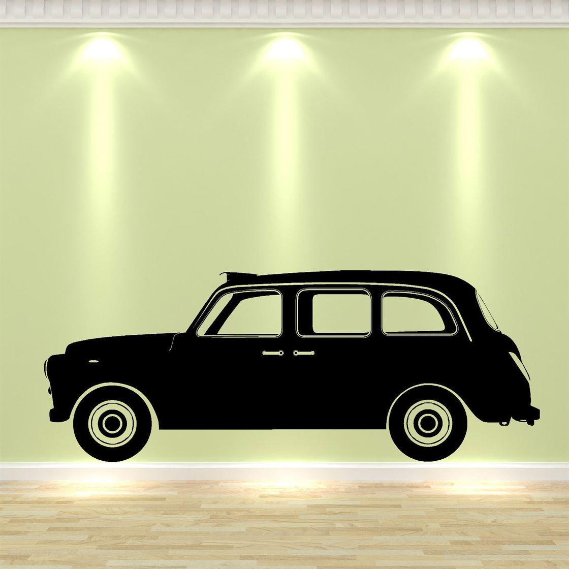 G100 LONDON TAXI CAB vinyl wall art sticker decal Family bedroom ...