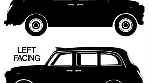 G100 LONDON TAXI CAB vinyl wall art sticker decal Family bedroom wall stickers Art Decoration Sticker-d