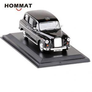 HOMMAT Simulation 1:43 Vintage Austin FX4 1958 London Taxi Cab Alloy Diecast Toy Vehicle Car Model Die Cast Metal Collection