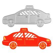Taxi Stencils Template Metal