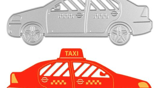 Taxi-Metal-Cutting-Dies-Cab-Stencils-DIY-Scrapbooking-Decorative-Embossing-Folder-Suit-Paper-Cards-Dies-Template