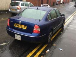 VW Passat 1.9TDi Wigan Hackney Plated