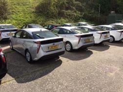 Toyota Prius ready to rent north west area. All councils.