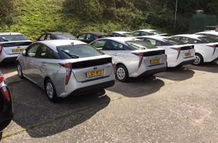 Toyota Prius ready to rent north west area. All councils. Prices from 250