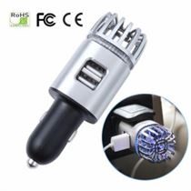 2 in 1 Car Charger USB And Air Purifier