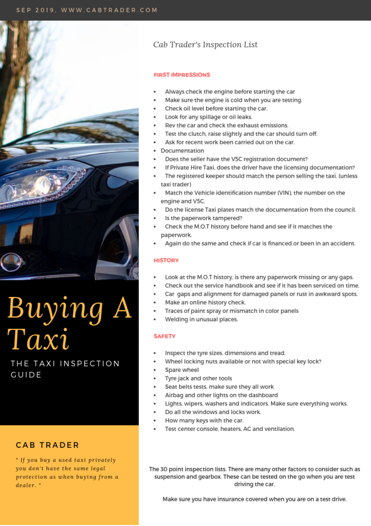 Taxis For Sale | Buy A Taxi | New Taxi Sales | Taxi Guide